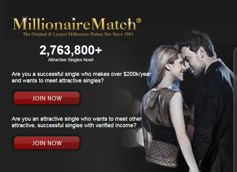 Online millionaire dating sites